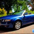 Audi A4 3.2 Cabrio Blauw 2006