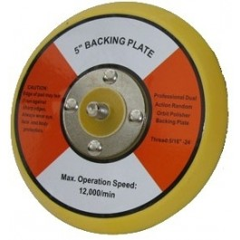 "5"" Dual Action Backingplate, Chemical Guys, BUFLC_BP_DA_5.1"
