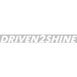 Driven2Shine Sticker Wit