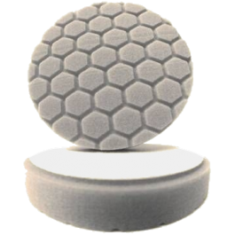 Hex Logic 4 Inch White, Chemical Guys, BUFX_104HEX4