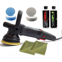 No Swirls! Xtreme S08 DA Polisher Medium Polishing Kit, Driven2shine, BUF-100.4-S08-MP-KIT