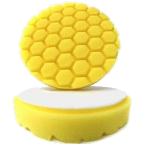 Hex Logic 5,5 inch Yellow, Chemical Guys, BUFX_101HEX5