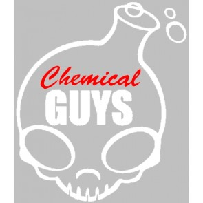 Chemical Guys Full Skull Sticker Wit