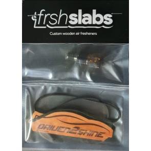 Driven2Shine Frshslab geurhanger met of zonder navulling