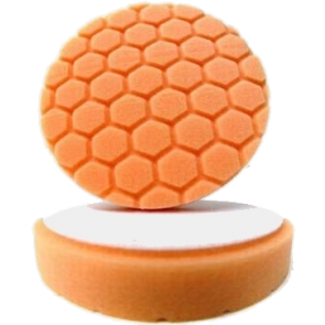 Hex Logic 4 Inch Orange, Chemical Guys, BUFX_102HEX4