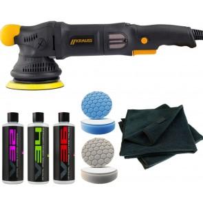 No Swirls! Xtreme S08 V2 DA Polisher Heavy Polishing Kit, Driven2shine, BUF-100.4-S08-HPP-KIT