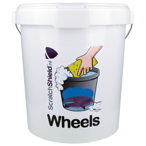 Scratch Shield Wheels Bucket
