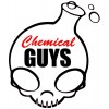 Chemical Guys Full Skull Sticker Zwart
